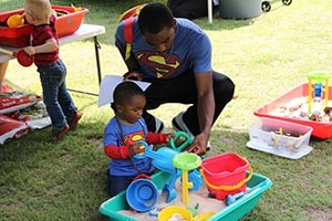 Father son Superman